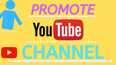 Promote your youtube channel from social media