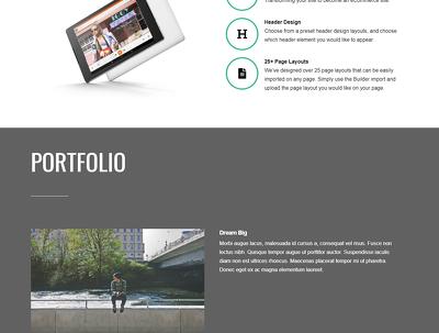 Build Professional Responsive Wordpress Landing Page Design