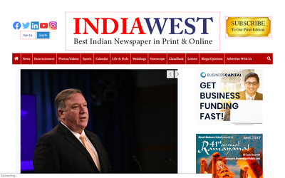 Guest post on indiawest.com DA 64