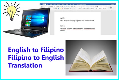 Translate 1000 words from English to Filipino or vice versa