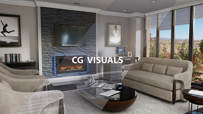 Create 3D interior/exterior renders