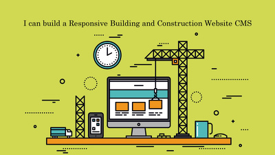 Build a Responsive Building and Construction Website CMS