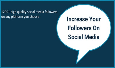 Promote Your Social Media Account to 1200+ People for Rank