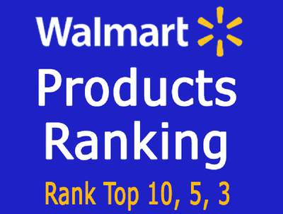 Rank your 1 product keyword on Walmart first page