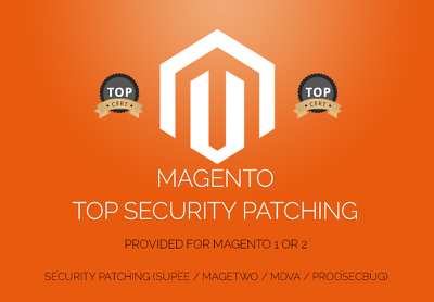 Install and apply any security patches for your Magento store