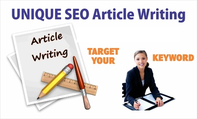 Research and Do SEO Article Writing up To 500 unique Words