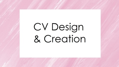 Design and format your CV / Resume