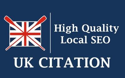 Do 120 UK based local citations