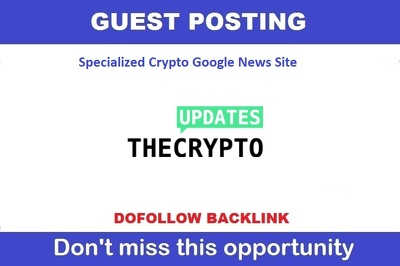 Guest Post News Article On Crypto Google News Site