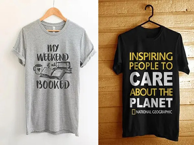 Make Trendy And Custom Typography T Shirt Design