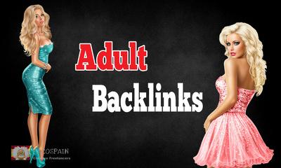 Do 100-120 PR 6 to PR2 Backlinks for Adult sites
