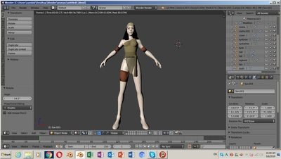 Make 3d Human Or Product Model With Texture And Rigging