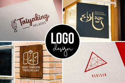 Design your professional logo & branding in 24 hours