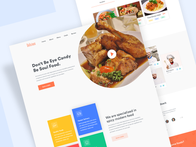 Design Professional Landing Page/Home page (Design only)