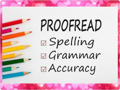 Proofread, Edit and Correct up to 3000 Words