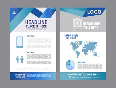 Design multi-page flyer, brochure/leaflet or poster in 24 hours