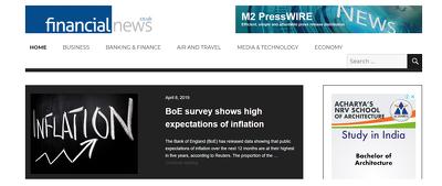 Publish a guest post on financial-news.co.uk - DA43