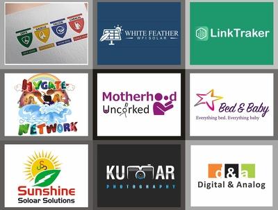 Bespoke or Replicate Logo+2 Concept+ Favicon+Source File