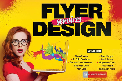 Design flyer for your business
