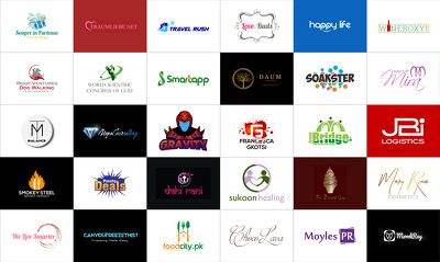 Bespoke Logo Design+ Creative Concepts +Revisions+Artwork