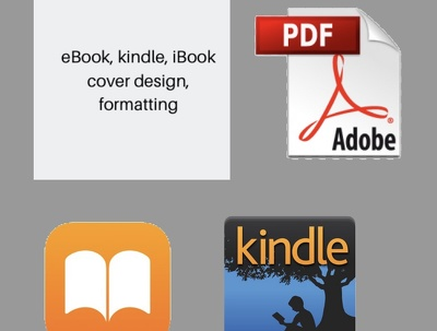 Professionally design and format eBook cover pdf, iBooks, Kindle