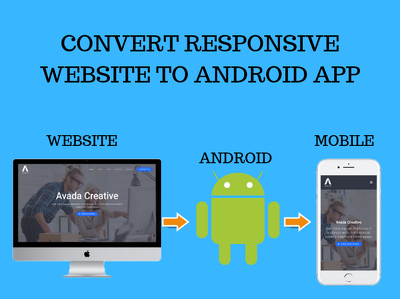 Convert Responsive Website Into Android App