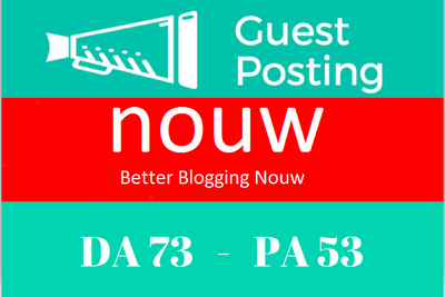 Write and Publish Guest Post on Nouw.com DA-73 Dofollow