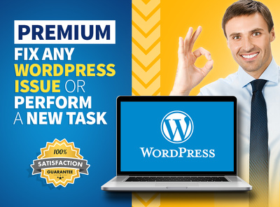 Premium Fix any WordPress Issue or Perform a New Task.
