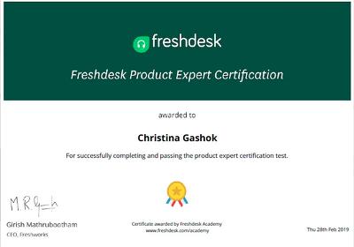 Set up your Freshdesk/Freshsales account