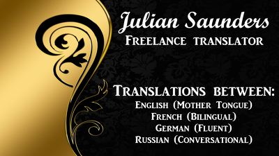 Translate between English, French, German and Russian