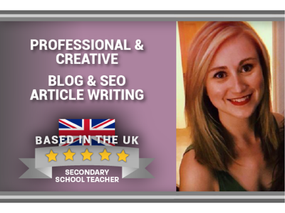 Write professional and creative blogs and articles