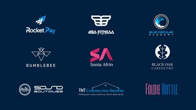Design Modern Business Brand Logo + Favicon + Revisions