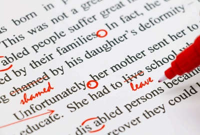Proofread and edit your Spanish article
