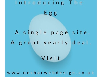 Design, build and maintain a single page site for a year