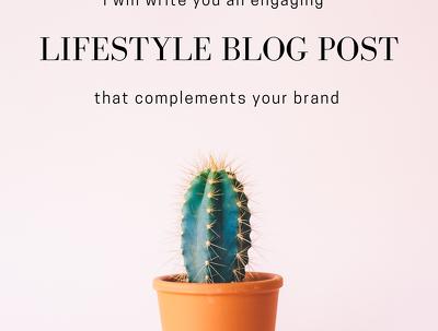 Write a 1,000 word blog post