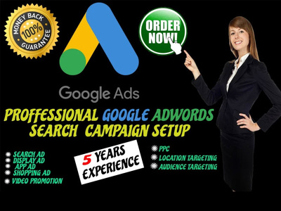 Setup Google Adwords PPC Campaign