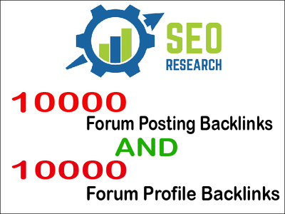 Provide 10000 Forum  Posting And 10000 Forum Profile Backlinks