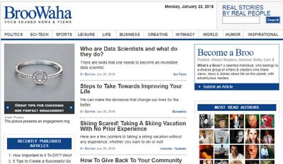 Publish A guest post On Broowaha.com DA 55 Blog
