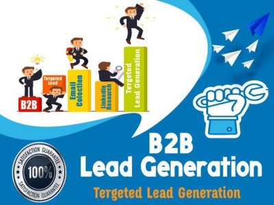 B2B Lead Generation, Web Research collect *1000* fresh Data