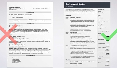 Design beautiful and elegant CV / Resume for you