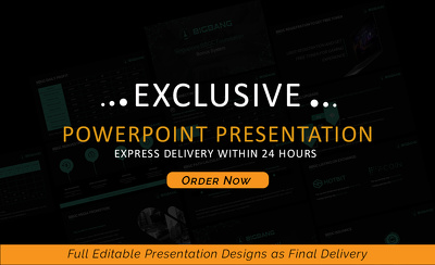 Create a Professional 20 slides PowerPoint presentation