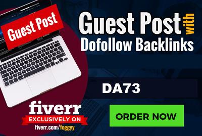 Publish German Guest Post On German Da 73 Blog
