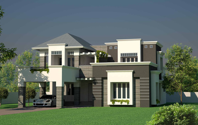 provide High Quality Exterior Renders