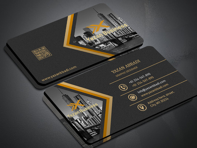 Design a professional visiting card for your business