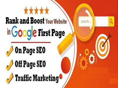 Get your website on Google first Page