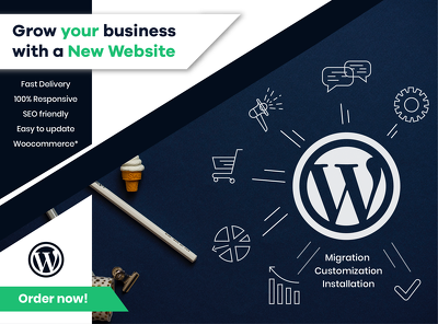 Create professional and responsive wordpress website