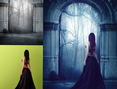 Do all kind of photo editing|2 photos