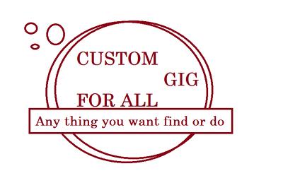Custom 20$ Gig For All Buyer