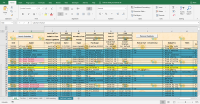 Create Custom/Multi-Tabbed/Robust Userforms and Excel Databases