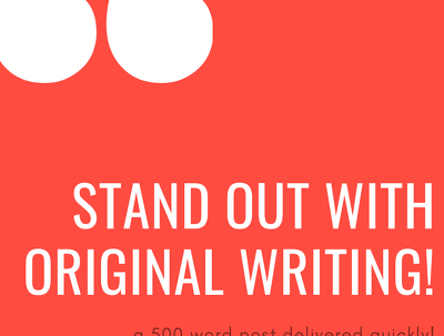 Write a piece of content up to 500 words